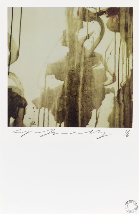 Cy Twombly - Ohne Titel (Detail of Painting, Gaeta)