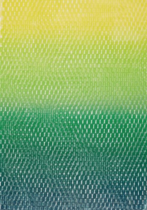 Peter Reichenberger - Monoprint Fa 1er Rhythmus