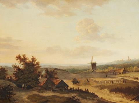 Jan Evert II Morel - Summer Landscape