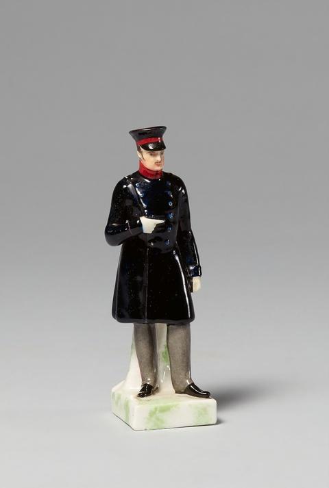 Seltene Statuette Friedrich Wilhelms III. -