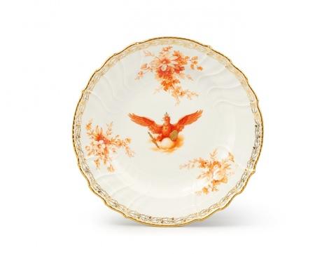 Teller mit preußischem Adler -