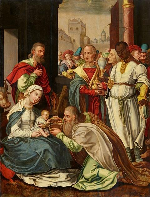 Netherlandish School 16th century - The Adoration of the Magi
