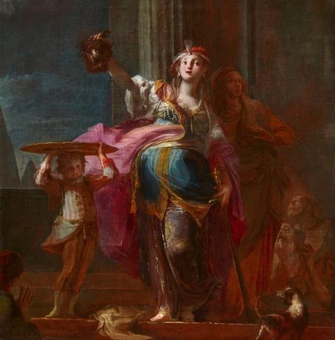 Giovanni Battista Crosato - Judith with the Head of Holofernes