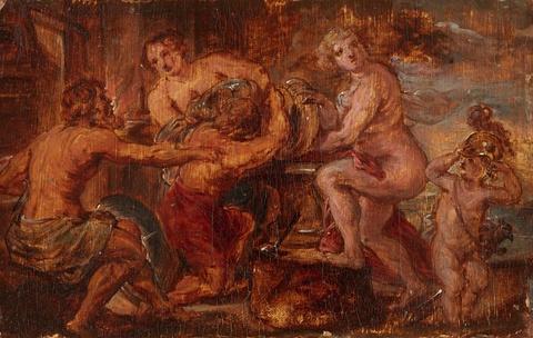 Flemish School 17th century - An Allegorical Scene