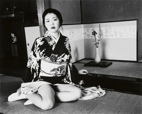 Nobuyoshi Araki - Ohne Titel (aus der Serie: Nude Landscape)