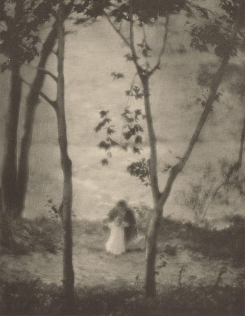 Edward Steichen - Mary Learns to Walk