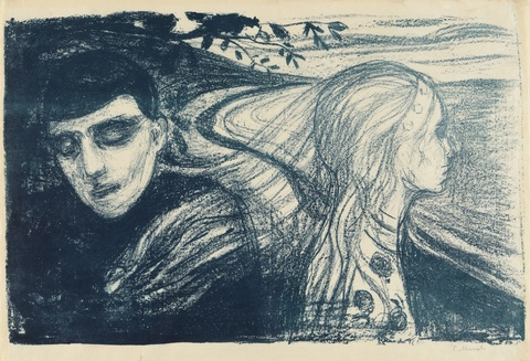 Edvard Munch - Loslösung II (Separation II)