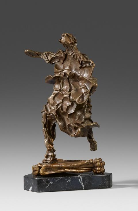 Salvador Dali Y Domenech - The soul of Don Quixote (Alma des Quijote)