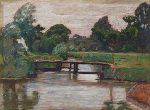 Otto Modersohn - Landschaft an der Wümme