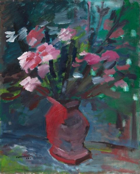 Ernst Mollenhauer - Rosa Blütenstrauß