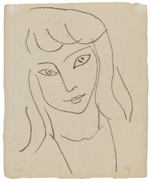 Henri Matisse - Fillette