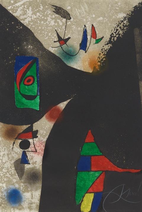 Joan Miró - Gaudí II