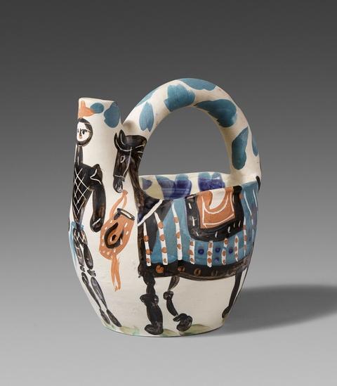 Pablo Picasso - Cavalier et cheval
