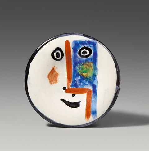 Pablo Picasso - Visage n° 193