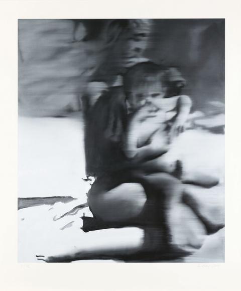 Gerhard Richter - Frau mit Kind