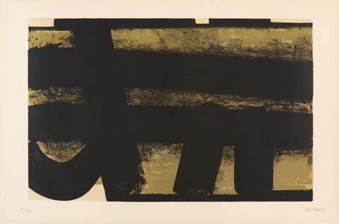Pierre Soulages - Lithographie No.35