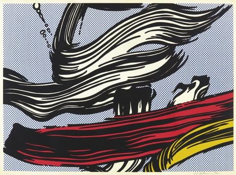 Roy Lichtenstein - Brushstrokes