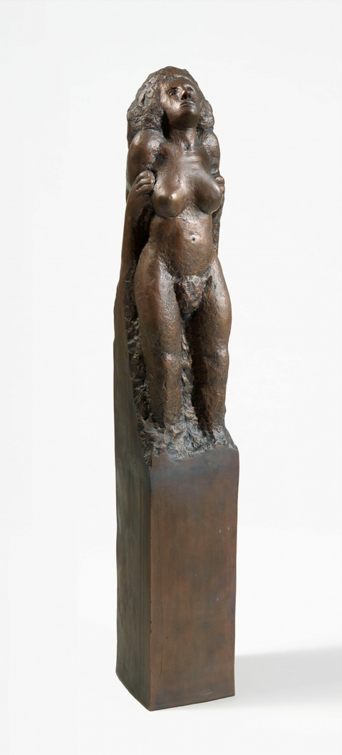 Alfred Hrdlicka - Stele mit weiblicher Figur