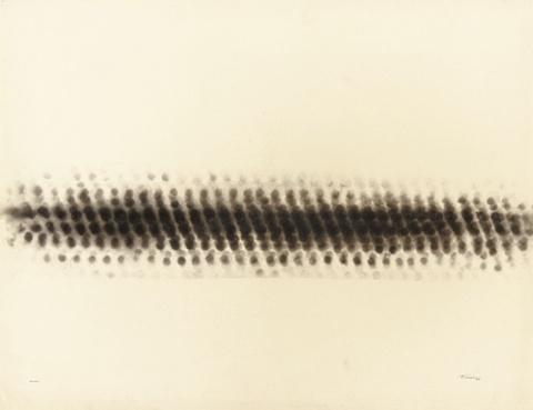 Otto Piene - Untitled (Rauchzeichnung)