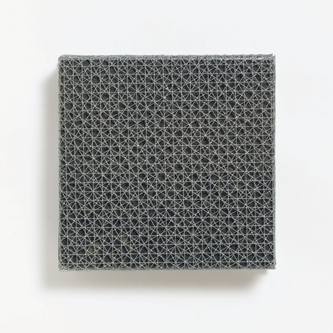François Morellet - 3 Trames de grillage 0° 30° 60°
