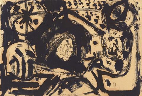 A.R. Penck - Ohne Titel