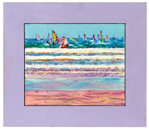 Jirí Georg Dokoupil - Untitled (Windsurfing)