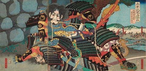 - Various 19th-century artists of the Utagawa school