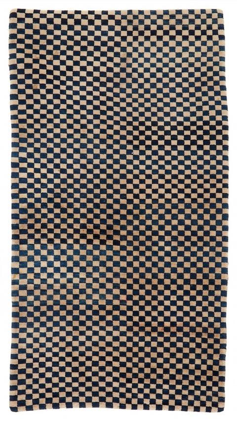 Teppich (khaden). Wolle, geknüpft. Tibet. Um 1900 -