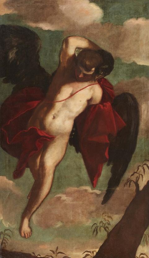 Venetian School 17th century - Ganymede