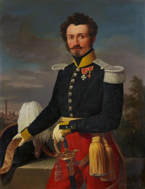Clemente Alberi - Portrait Franz von Weber, Oberst in päpstlichen Diensten
