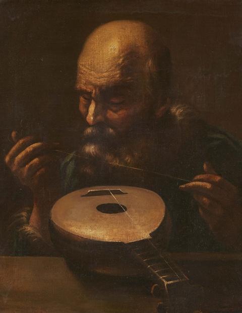 Bologneser Meister des 17. Jahrhunderts - Der Instrumentenbauer