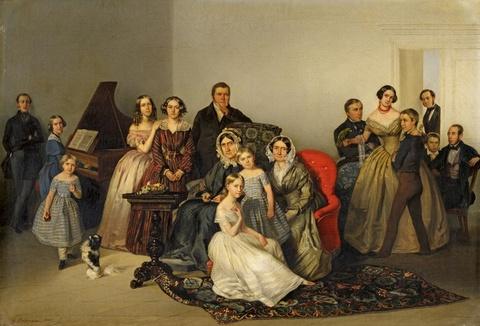Georg Bothmann (Botmann) - Portrait der Familie Andreas Matthiessen