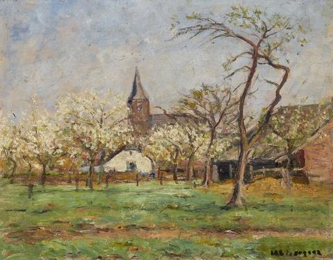 Helmuth Liesegang - Frühling in Wittlaer