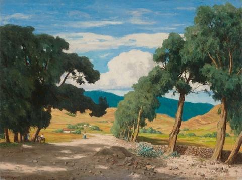 Paul Müller-Kaempff - View of Tenerife