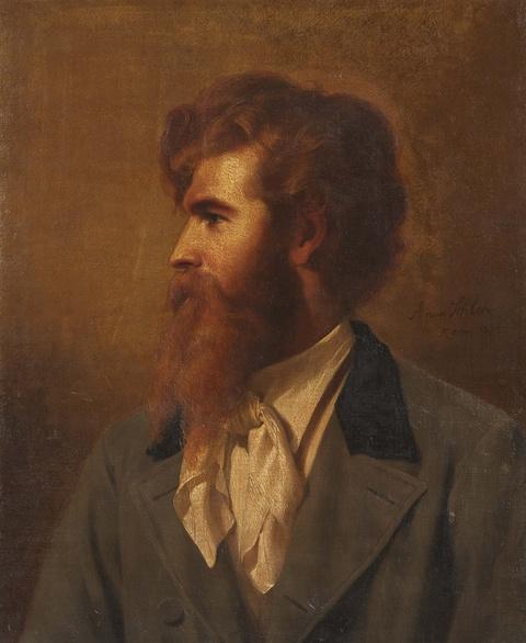 Anna Schleh - Portrait des Edmund Kanoldt