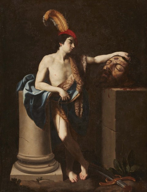 Guido Reni, copy after - David with the Head of Goliath