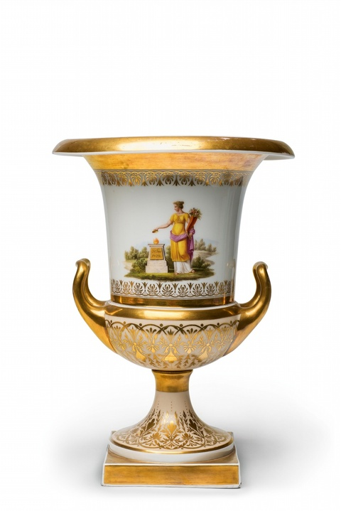 Redensche Vase mit Widmung an den Probst Hoppe -