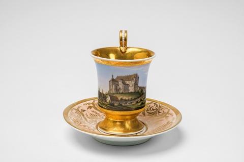 Tasse mit Ansicht von Schloss Taxis -