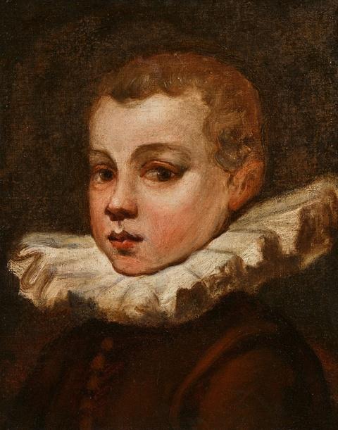 Venetian School circa 1600 - Portrait of a Youth