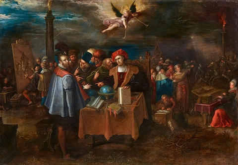 Frans Francken the Younger - Various Methods of Achieving Fame