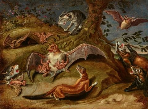 Jan van Kessel the Elder - Allegory of Night