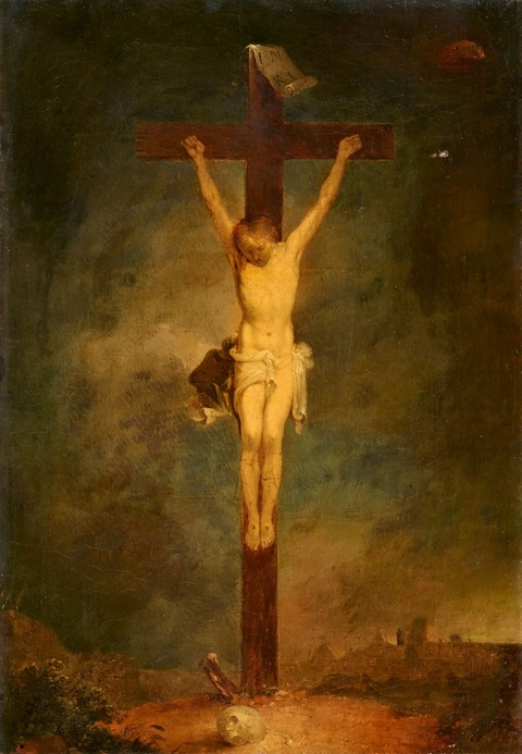 Januarius Zick - The Crucifixion