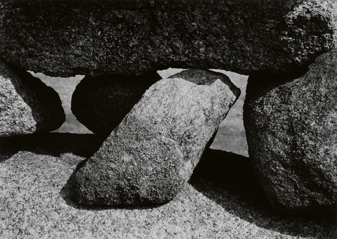 Aaron Siskind - Rocks, Martha's Vineyard