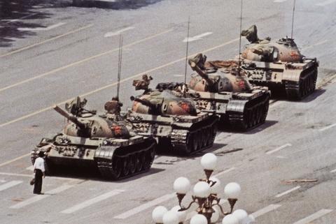 """Jeff Widener - """"Tank Man"""", Bejing, China"""