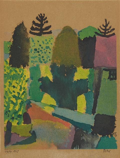 Paul Klee - Park