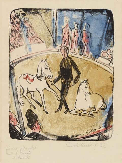 Erich Heckel - Zirkus