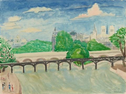 Erich Heckel - Seine-Brücken