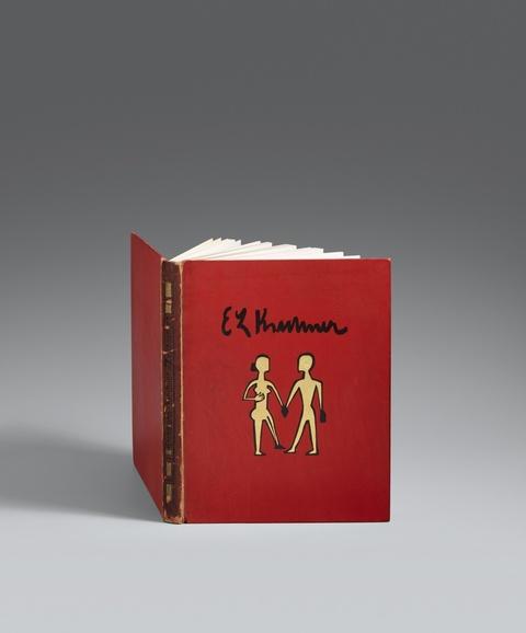 Ernst Ludwig Kirchner - Will Grohmann. Kirchner-Zeichnungen, Dresden 1925