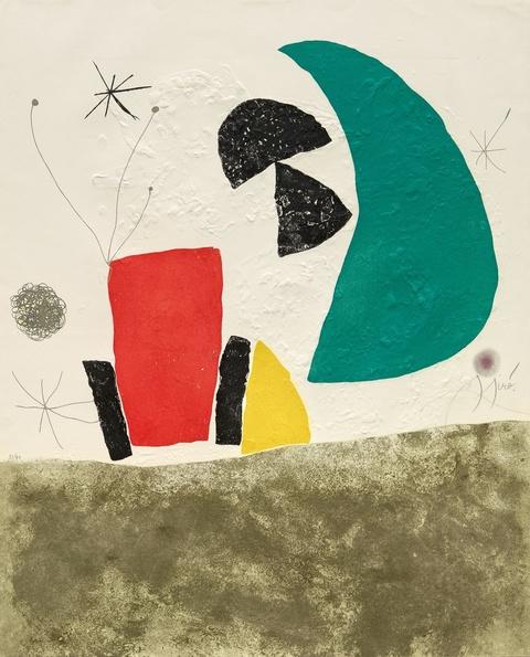 Joan Miró - Aus: Espriu - Miró