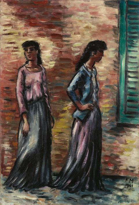 Frans Masereel - Zwei Frauen